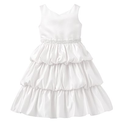 Princess Faith Tiered Dress - Girls
