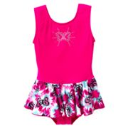 Jacques Moret Butterfly Skirted Dance Leotard - Girls