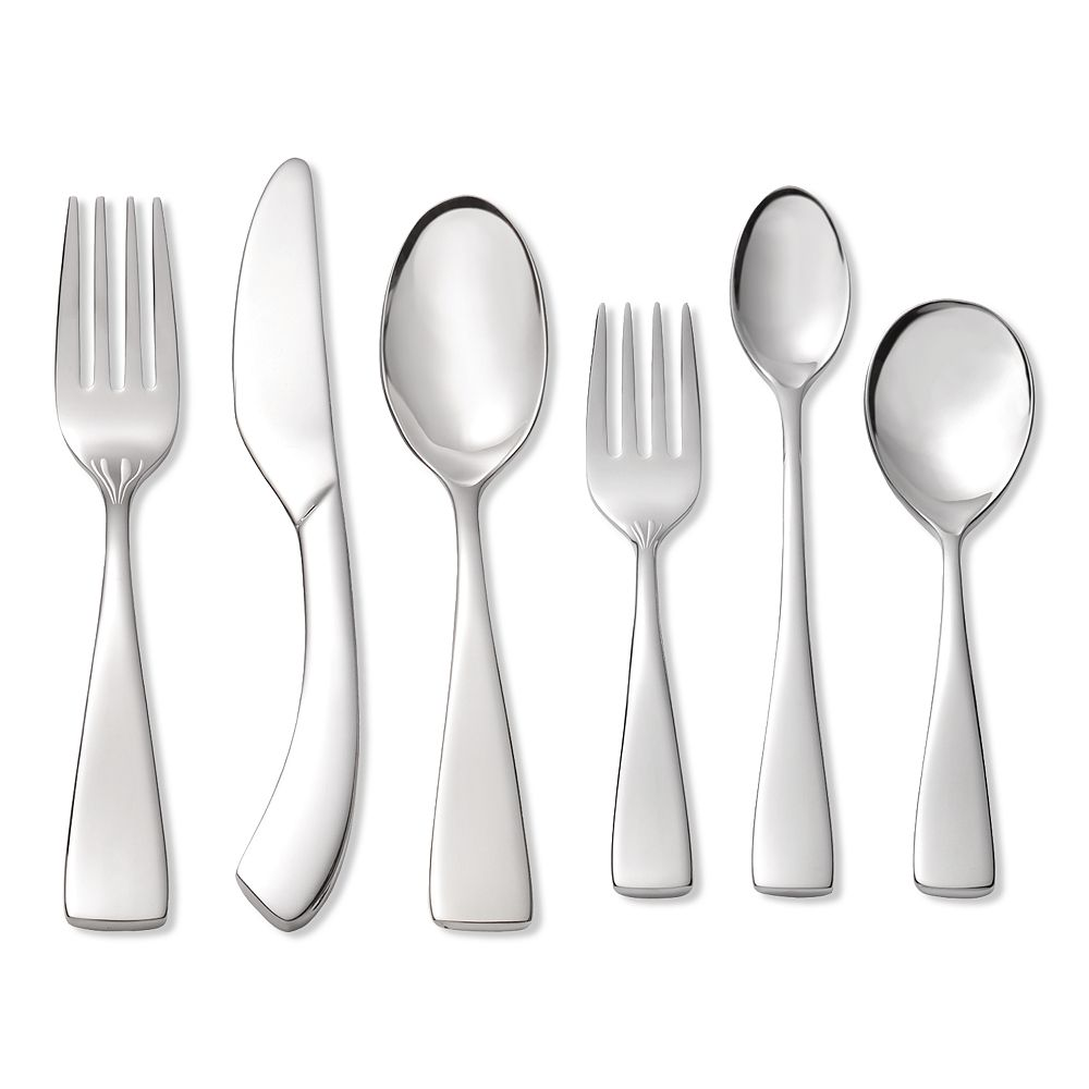 Oneida Curva 18/10 Stainless Steel 6-pc. Progress Flatware Set