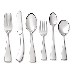 Oneida Curva 18/10 Stainless Steel 6 pc Progress Flatware Set