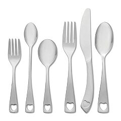 Oneida Little Love 18/10 Stainless Steel 6 pc Progress Flatware Set