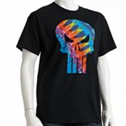 Punisher Tie-Dyed Logo Tee - Men