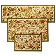 Tapestry 3 pc Area Rug Set