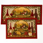 Vineyard 2-pc. Kitchen Rug Set