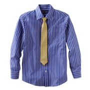 Chaps Button-Down Shirt and Tie Set - Boys 8-18