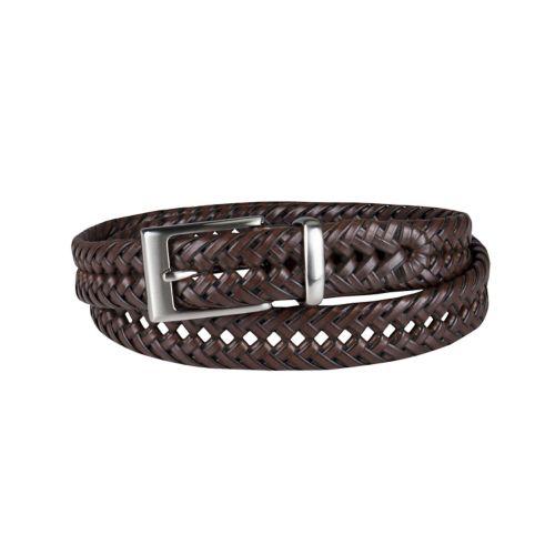 dockers 174 braided leather belt