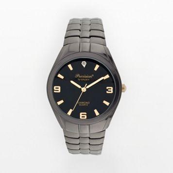 Precision by Gruen Diamond Accent Expansion Watch - Men