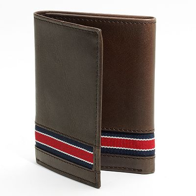 Croft and Barrow Striped Trifold Wallet