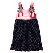 Sophie Rose Stars and Stripes Sundress - Toddler