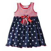 Sophie Rose Stars and Stripes Knit Sundress - Toddler