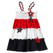 Sophie Rose Star Colorblock Sundress - Toddler