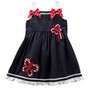 Sophie Rose Butterfly Seersucker Sundress - Toddler