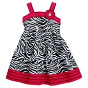 Youngland Zebra Sundress - Toddler