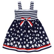 Youngland Stars and Stripes Sundress - Toddler