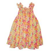 Blueberi Boulevard Floral Sundress - Toddler
