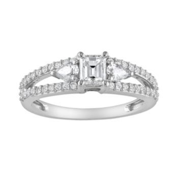 Stella Grace 14k White Gold 1 Carat T.W. Diamond Engagement Ring