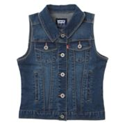 Levi's Denim Trucker Vest - Girls 7-16