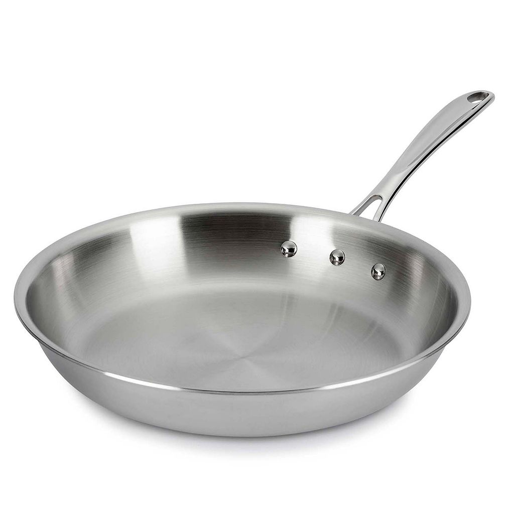 Calphalon Tri-Ply Stainless Steel 10-in. Omelet Pan