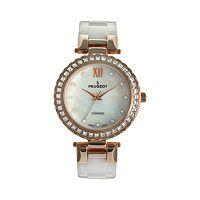 Peugeot Women's Crystal Ceramic Watch - PS4881RG