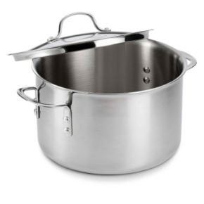 Calphalon Tri-Ply Stainless Steel 8-qt. Covered Stockpot