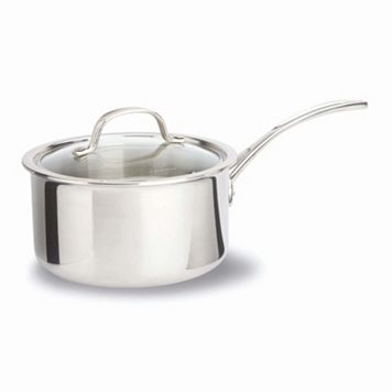 Calphalon Tri-Ply Stainless Steel 2.5-qt. Covered Saucepan