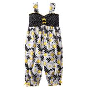 Bonnie Jean Daisy and Dot Coveralls - Toddler