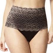 Skinnygirl Purrfection Luxe Lace Shaping True-Waist Thong - 7238