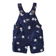 OshKosh B'gosh Star Poplin Shortalls - Baby