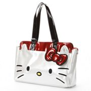 Hello Kitty Metallic Face Tote