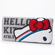 Hello Kitty Gym Sweatband Checkbook Wallet