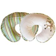 Boppy Monkey Striped Deluxe Nursing and Support Pillow