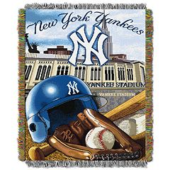 New York Yankees Tapestry Throw by Northwest