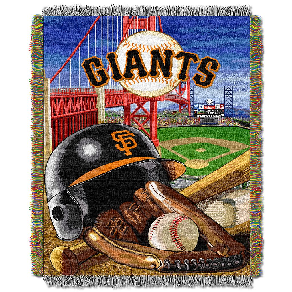 San Francisco Giants Tapestry Throw by Northwest
