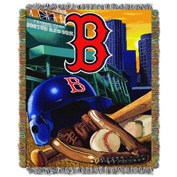 Boston Red Sox Tapestry Throw by Northwest
