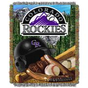 Colorado Rockies Tapestry Throw by Northwest