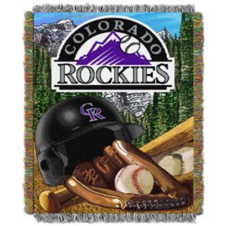 Colorado Rockies Tapestry Throw by Northwest
