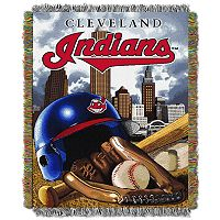 Cleveland Indians Tapestry Throw by Northwest