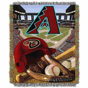 Arizona Diamondbacks Tapestry Throw by Northwest