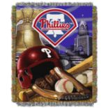Philadelphia Phillies Tapestry Throw by Northwest