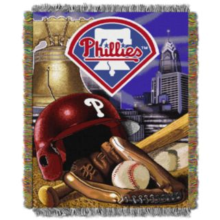 Philadelphia Phillies Tapestry Throw by Northwest