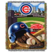 Chicago Cubs Tapestry Throw by Northwest