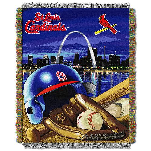 St. Louis Cardinals Tapestry Throw by Northwest