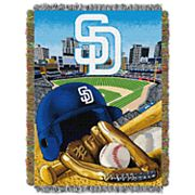 San Diego Padres Tapestry Throw by Northwest