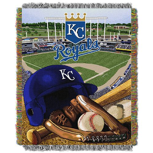 Kansas City Royals Tapestry Throw by Northwest