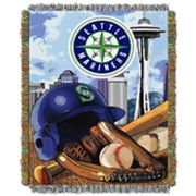Seattle Mariners Tapestry Throw by Northwest