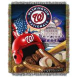 Washington Nationals Tapestry Throw by Northwest