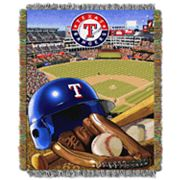 Texas Rangers Tapestry Throw by Northwest