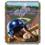 Los Angeles Dodgers Tapestry Throw by Northwest