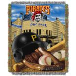 Pittsburgh Pirates Tapestry Throw by Northwest