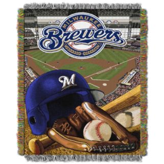 Milwaukee Brewers Tapestry Throw by Northwest